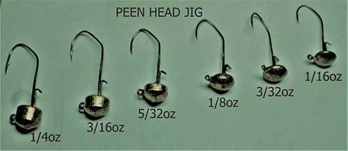 PEEN HEAD JIGS